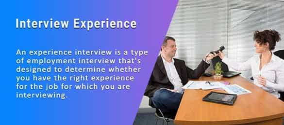 Online InterviewExperience Videos